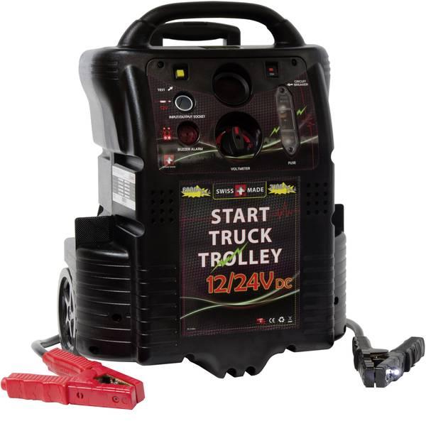 Jump Starter - Sistema di accensione rapido ELMAG START TRUCK TROLLEY 6200/3100 A 55073 Corrente davviamento ausiliaria (12 V)=2340 A  -