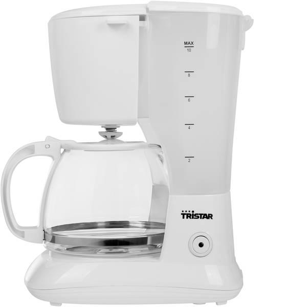 Macchine dal caffè con filtro - Tristar CM-1252 Macchina per il caffè Bianco Capacità tazze=10 -