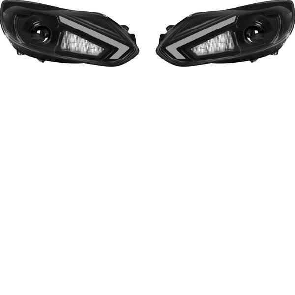 Faretti per auto - Fanale completo LEDriving® Ford Focus 3 XENARC LED Osram Auto (L x L x A) 69 mm x 40 cm x 22 cm Nero -