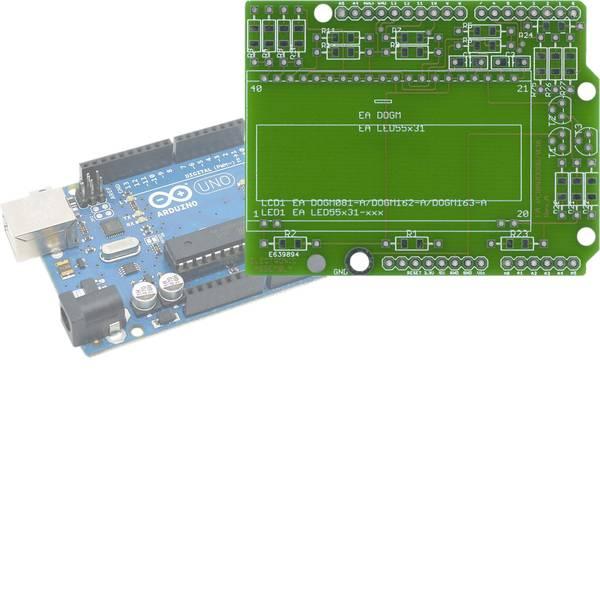 Shield e moduli aggiuntivi HAT per Arduino - EA PCBARDDOG7036 -