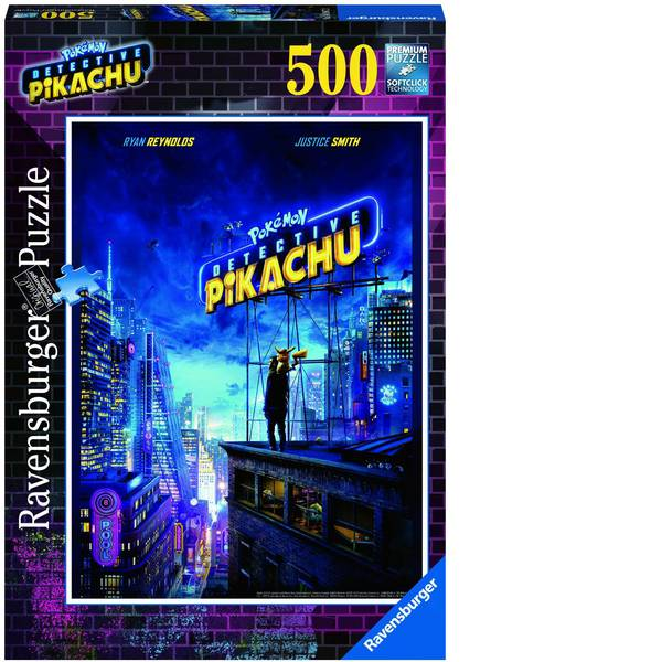 Puzzle - Ravensburger Detective Pikachu/Pokemon Puzzle 14987 -