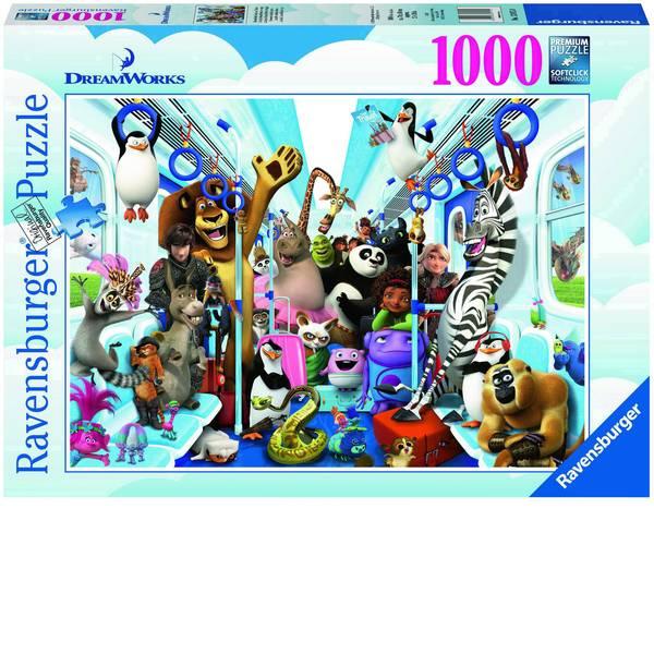 Puzzle - Ravensburger DreamWorks Familie auf Reisen Puzzle 13975 -