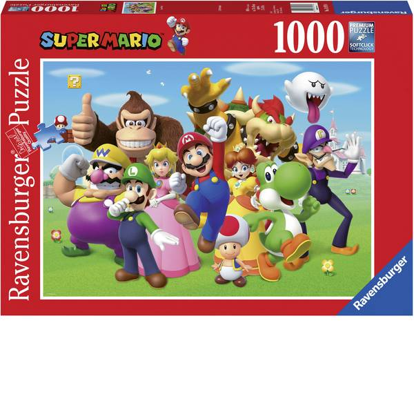 Puzzle - Ravensburger Super Mario Puzzle 14970 -