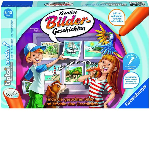 Giochi di società e per famiglie - Ravensburger tiptoi® CREATE Kreative Bildergeschichten 00001 -