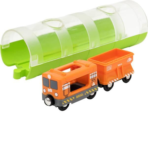 Trenini e binari per bambini - Brio Tunnel Box Frachtzug 63389100 -