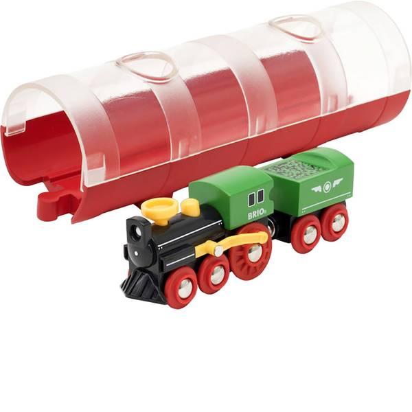 Trenini e binari per bambini - Brio Tunnel Box Dampflockzug 63389200 -
