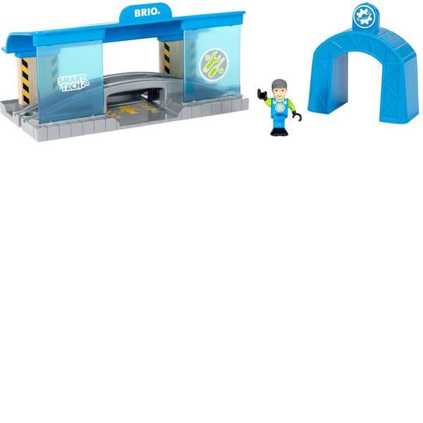 Trenini e binari per bambini - Brio Smart Tech Eisenbahn-Werkstatt 63391800 -