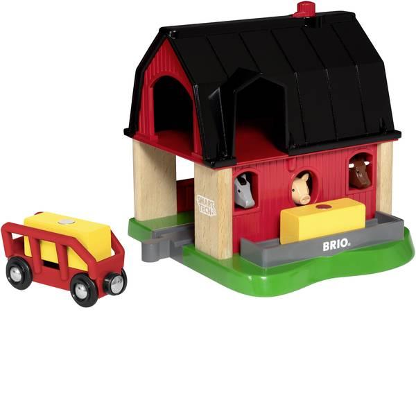 Trenini e binari per bambini - Brio Smart Tech Bauernhof 63393600 -
