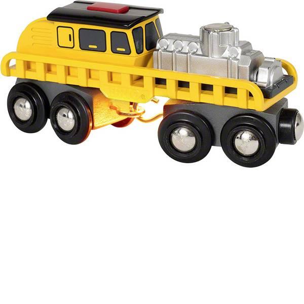 Trenini e binari per bambini - Brio Schienenreparatur-Fahrzeug 63389700 -
