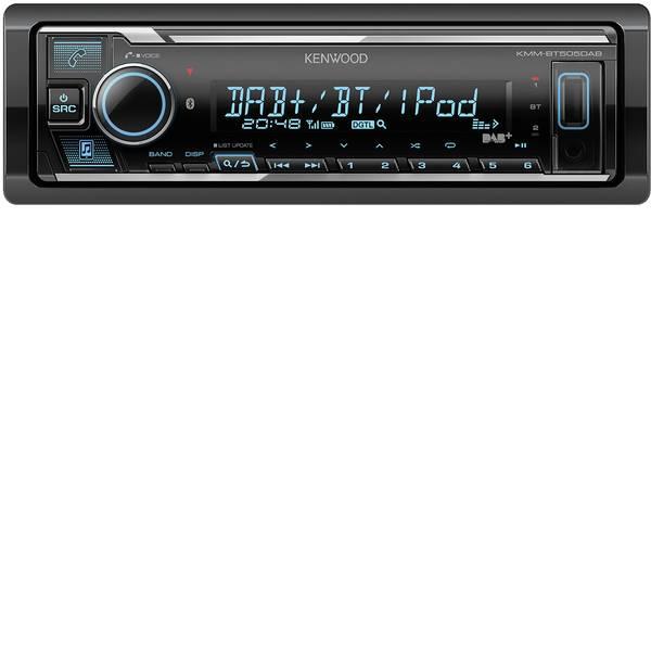Autoradio e Monitor multimediali - Kenwood KMM-BT505DAB Autoradio Sintonizzatore DAB+, Vivavoce Bluetooth®, Collegamento per controllo remoto da volante -