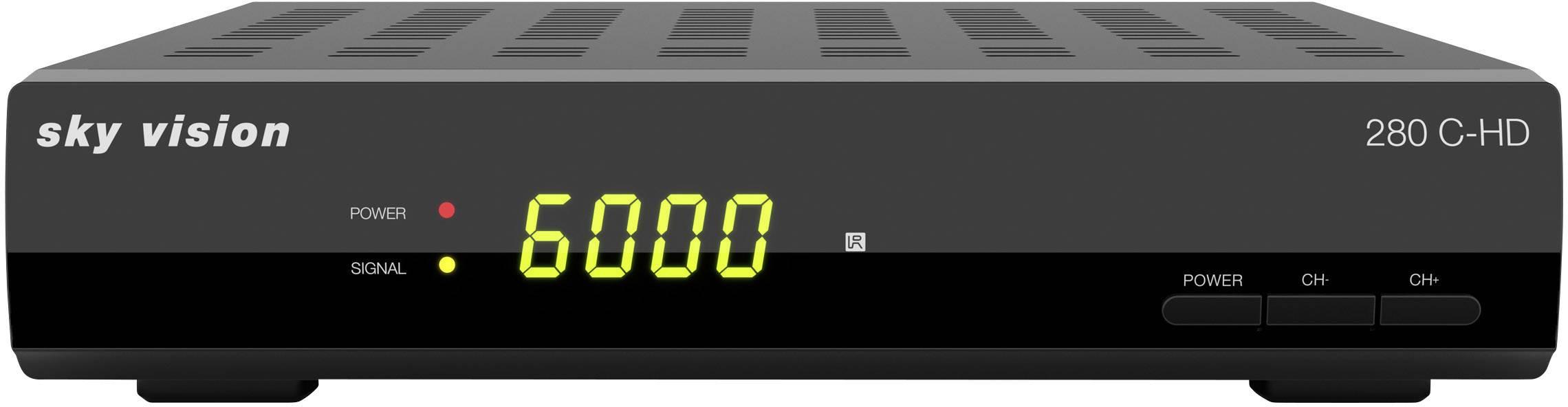 Sky Vision 280 C-HD Ricevitore HD via cavo Numero di sintonizzatori: 1