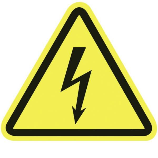 Targhette di avvertenza - Segnale di pericolo AVVERTENZA tensione elettrica Plastica 30 pz. -