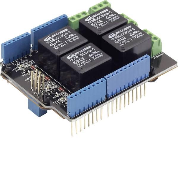 Shield e moduli aggiuntivi HAT per Arduino - Seeed Studio Relay Shield v3.0 Shield relè Adatto per: Arduino -