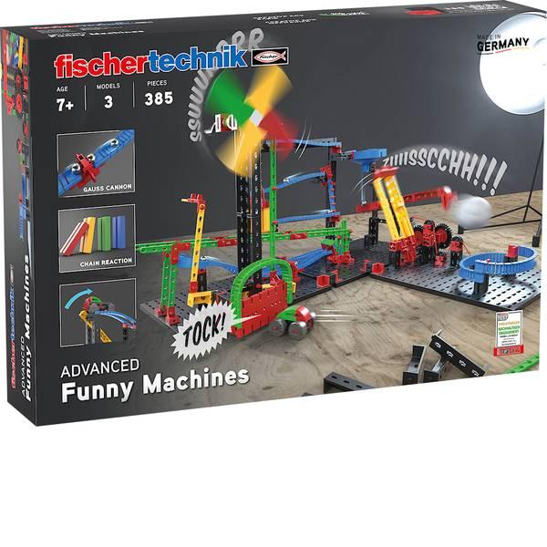 Kit esperimenti e pacchetti di apprendimento - fischertechnik 551588 ADVANCED Funny Machines - Kettenreaktion Kit da costruire da 7 anni -