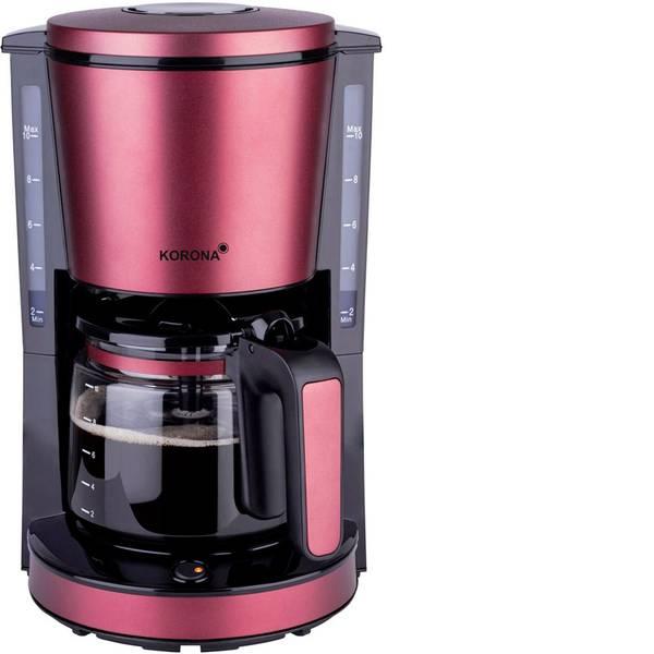 Macchine dal caffè con filtro - Korona 10340 Macchina per il caffè Rosso rubino (opaco) Capacità tazze=10 -