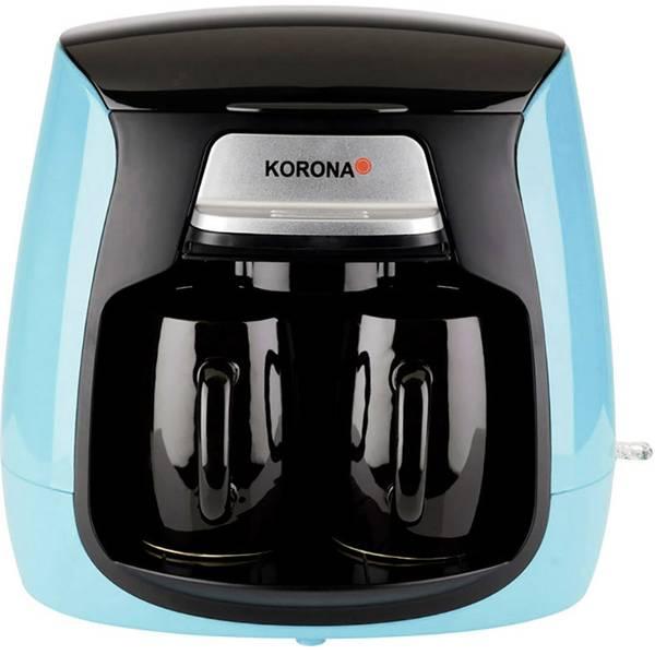 Macchine dal caffè con filtro - Korona 12207 Macchina per il caffè Blu chiaro, Nero Capacità tazze=2 -
