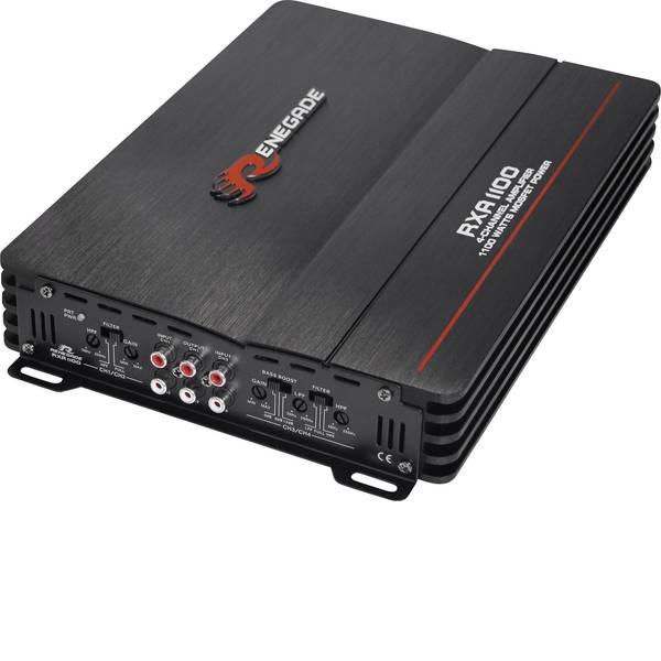 Amplificatori HiFi per auto - Renegade RXA1100 Amplificatore a 4 canali 600 W -