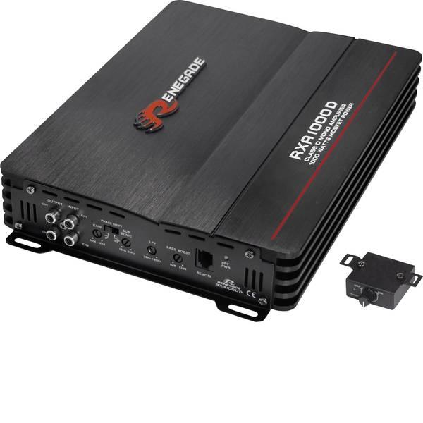 Amplificatori HiFi per auto - Renegade RXA1000D Amplificatore digitale a 1 canale 500 W -