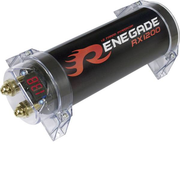 PowerCaps HiFi per auto - Condensatore PowerCap 1.2 Renegade RX1200 -