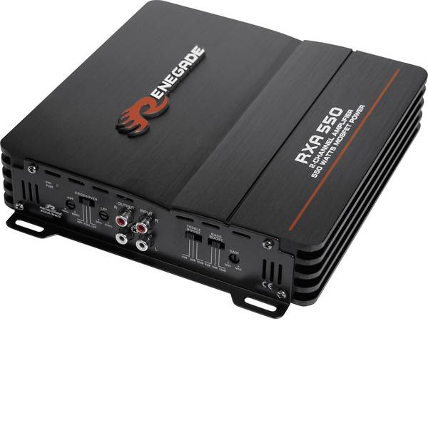 Amplificatori HiFi per auto - Renegade RXA550 Amplificatore a 2 canali 300 W -