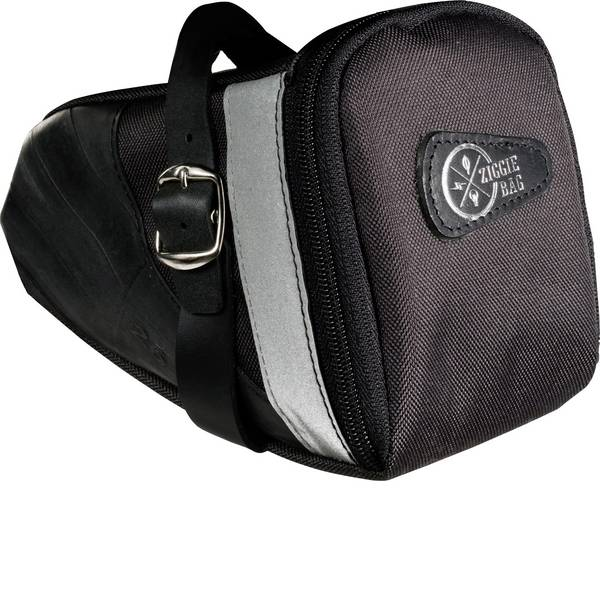 Borse da bicicletta - Ziggie Bag 5127200 Big Style Borsa per sottosella Nero -