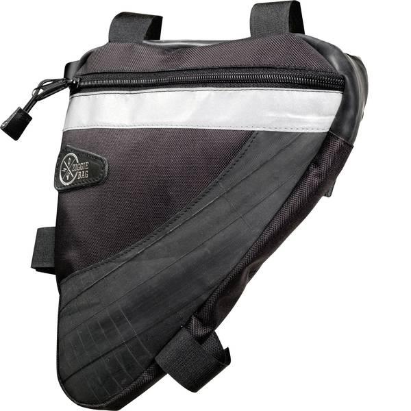 Borse da bicicletta - Ziggie Bag 5127400 Triangle 1 Borsa per telaio Nero -