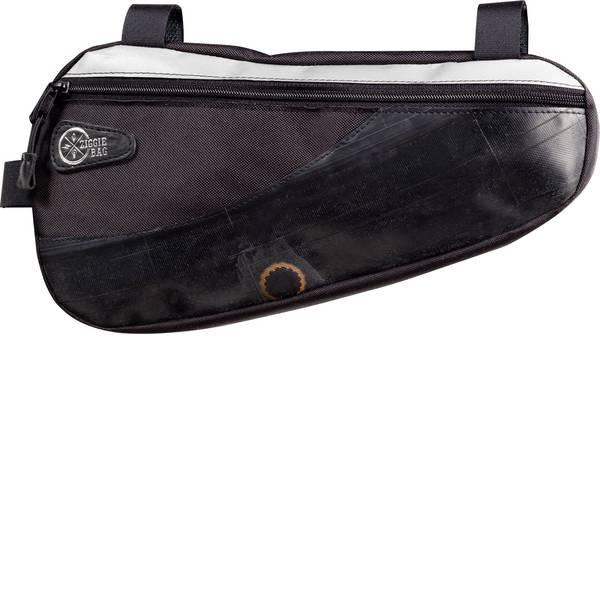 Borse da bicicletta - Ziggie Bag 5127500 Triangle 2 Borsa per telaio Nero -