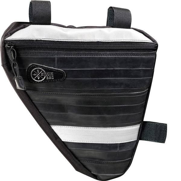 Borse da bicicletta - Ziggie Bag 5127600 Triangle 3 Borsa per telaio Nero -