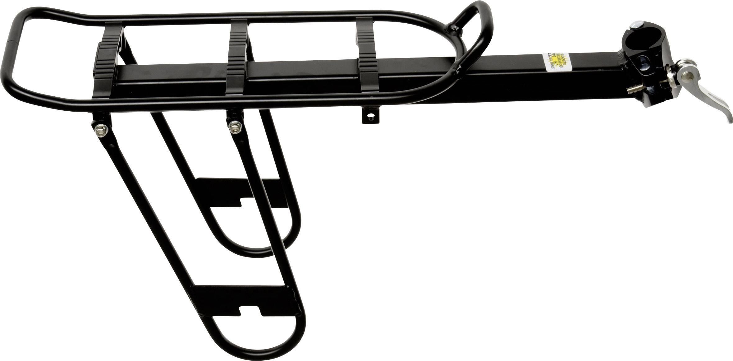 Portapacchi per bicicletta Point 5057200 Nero