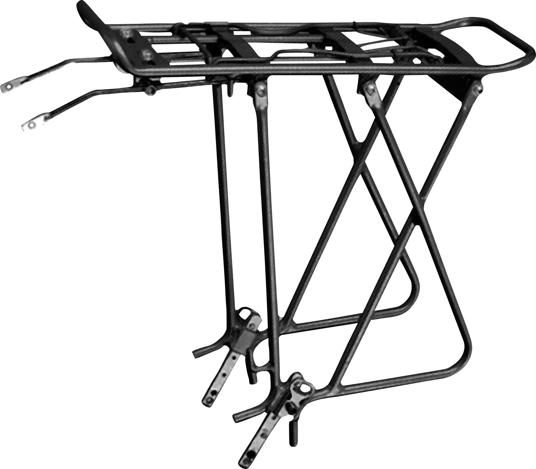 Portapacchi per bicicletta FOX Parts 5061300 Nero