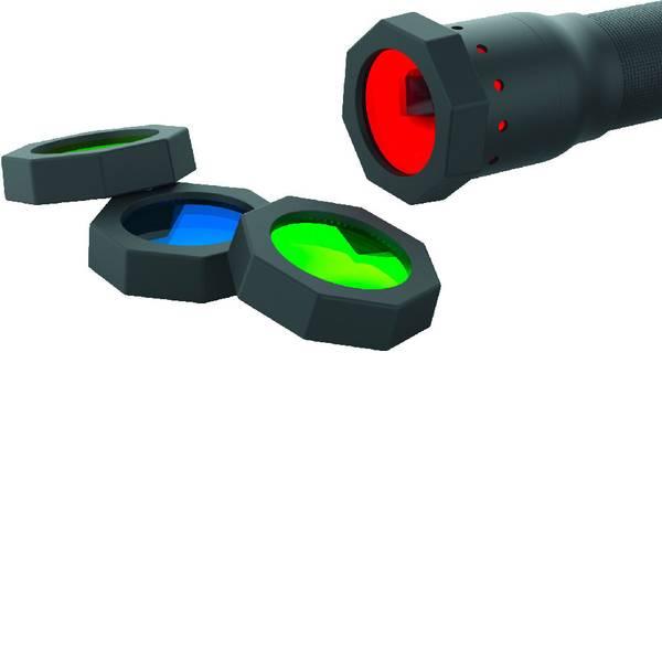 Accessori per torce portatili - Filtro colore Rosso / Blu / Verde / Giallo H14.2, H14R.2, P7, P7R P7.2,, T7P Ledlenser 100879 -