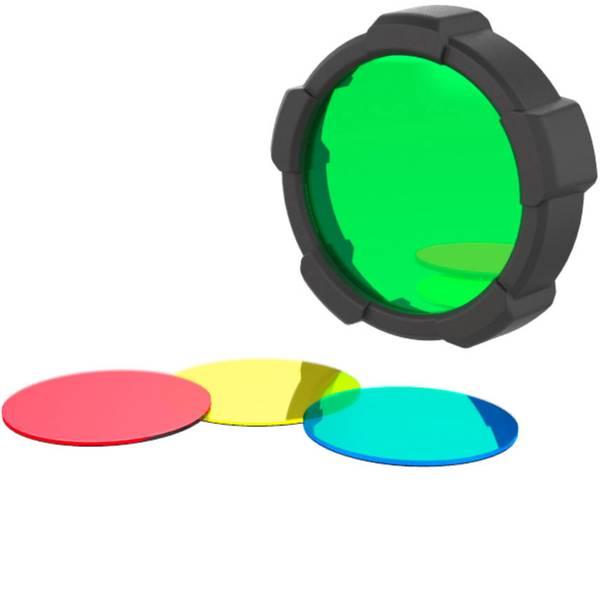 Accessori per torce portatili - Filtro colore Rosso / Blu / Verde / Giallo MH10, H8R, H14.2, NEO10R, iH7R CRI, iH8R Ledlenser 501506 -