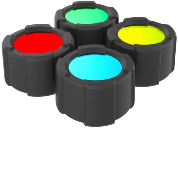 Accessori per torce portatili - Filtro colore Rosso / Blu / Verde / Giallo MT14, M6R Ledlenser 501039 -
