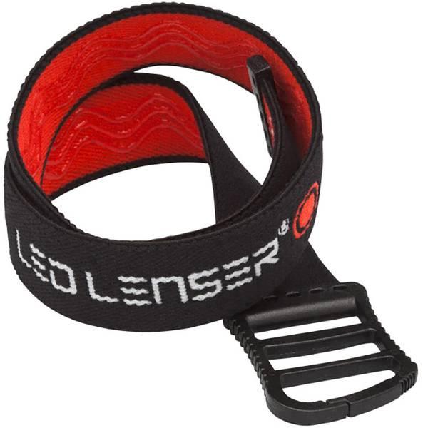 Accessori per torce portatili - Fascia da testa Nero/Rosso SEO 3, SEO 5, SEO 5R, SEO 7R, SEO B3, SEO B5R, MH2, MH6, 3, iSEO iSEO 5R Ledlenser 0394 -