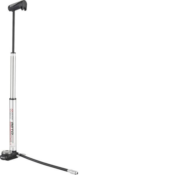 Pompe da bicicletta - Mini pompa da pavimento Beto 13020101 Nero, Argento -