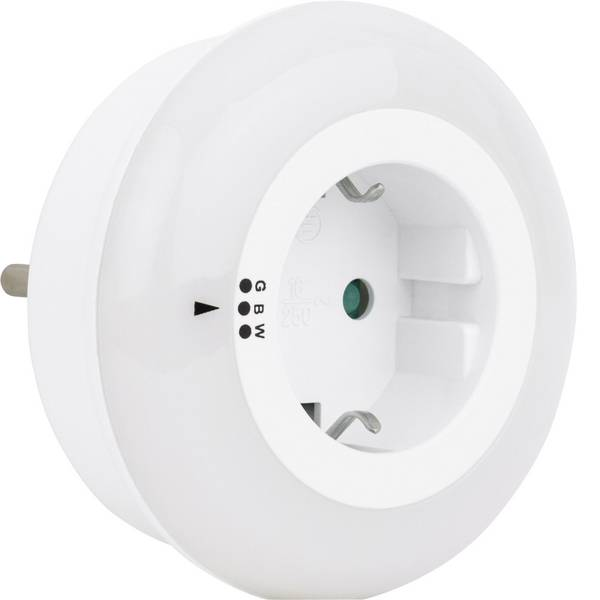 Luci notturne - REV 003371731 Lampada notturna Rotondo LED Bianco -