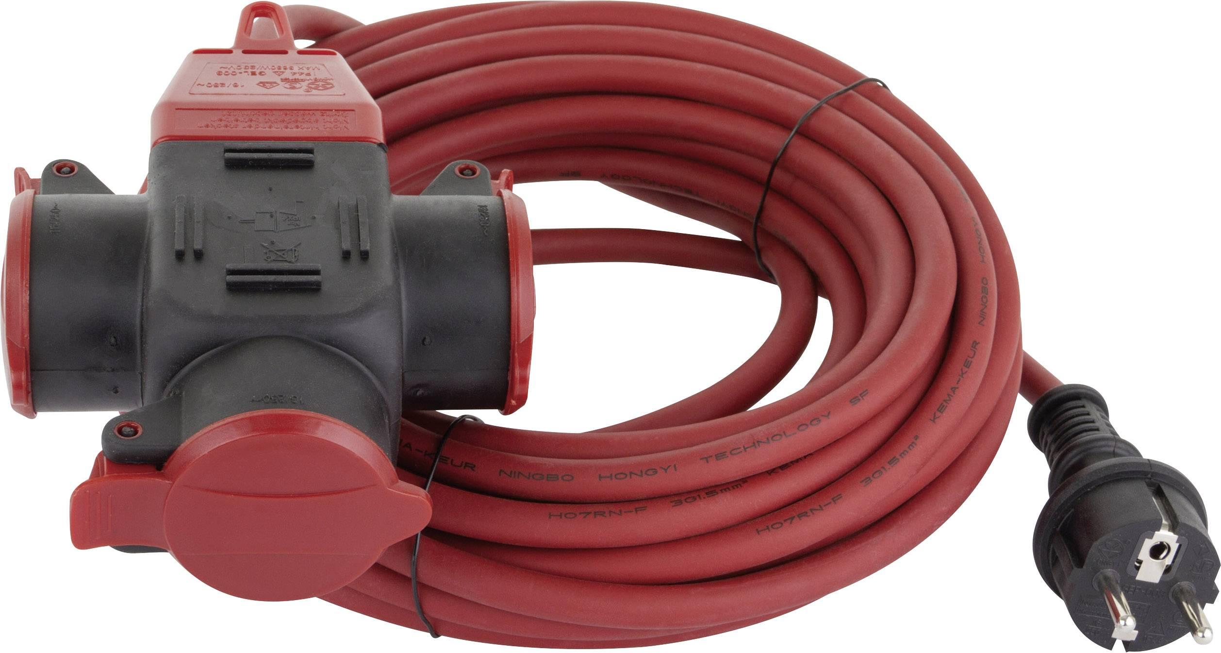 REV 006716 Corrente Prolunga Rosso 10 m