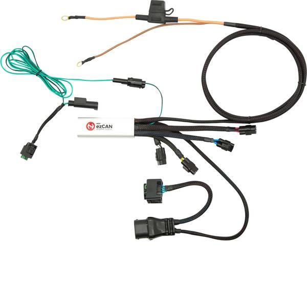 Accessori comfort per auto - Manager 4 canali per accessori HEX ezCAN BMW F800 76 mm x 30 mm x 16 mm con connettore Micro-USB -