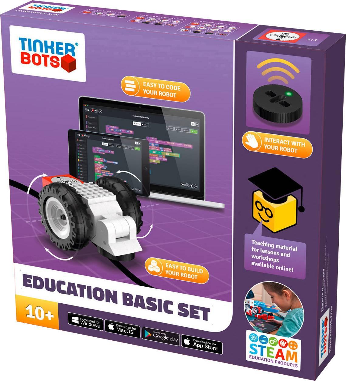 TINKERBOTS Robot in kit da montare Education Basic Set