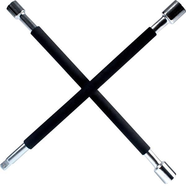 Prodotti assistenza guasti e incidenti - Chiave a croce per ruote IWH 020870 (L x L x A) 375 x 375 x 40 mm -
