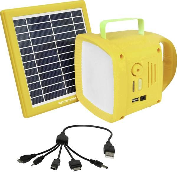 Lampade per campeggio, outdoor e per immersioni - LED Luce da campeggio Pro Mate SolarTorch-1 90 lm a batteria ricaricabile Giallo SolarTorch1 -