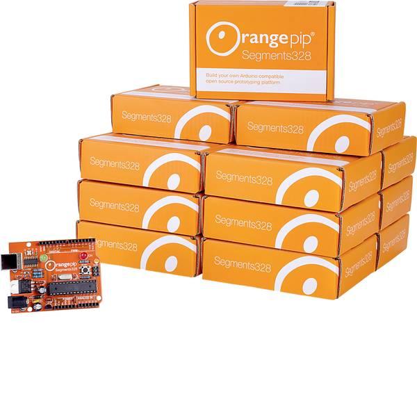 Kit e schede microcontroller MCU - Orangepip Scheda Arduino Segments328 Class AVR® ATmega ATMega328 -