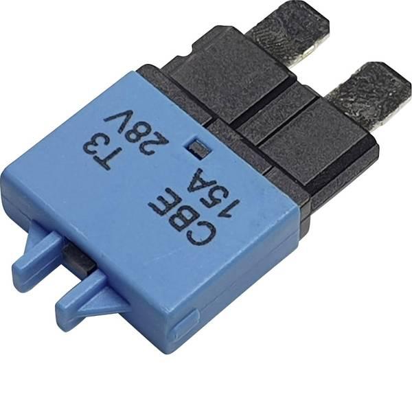 Fusibili per auto - Interruttore automatico fusibile piatto standard 15 A Blu Hansor Circuit Breaker Standard, type 3, Manual Reset, 15A  -