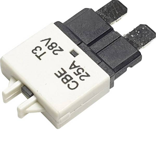 Fusibili per auto - Interruttore automatico fusibile piatto standard 25 A Bianco Hansor Circuit Breaker Standard, type 3, Manual Reset, 25A  -