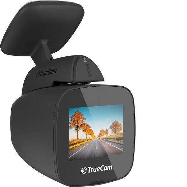Dashcam - TrueCam H5 Dashcam Max. angolo di visuale orizzontale=130 ° Display -
