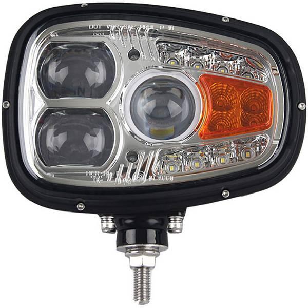 Faretti per auto - Fanale completo LED alta potenza SecoRüt (L x A x P) 214 x 201 x 109 mm Nero -