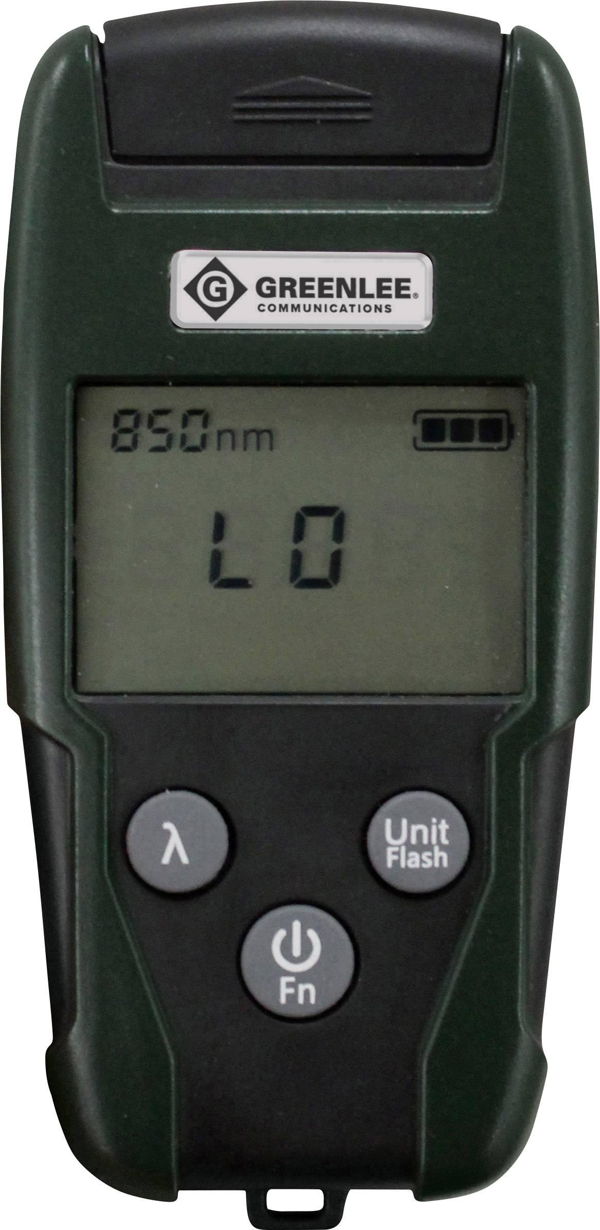 Tester per fibra ottica Greenlee GOPM-02 Rete, Telecomunicazione