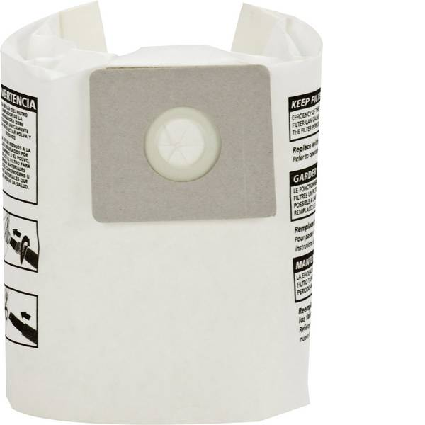 Accessori per aspirapolvere e aspiraliquidi - sacchetto filtro ShopVac 9066829 5 pz. -