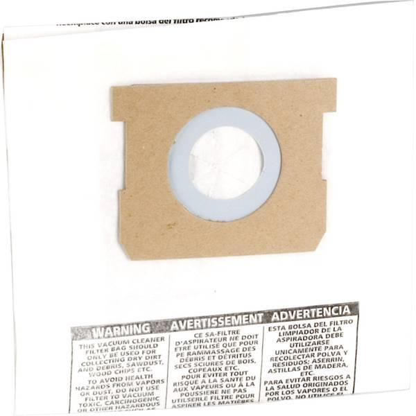 Accessori per aspirapolvere e aspiraliquidi - sacchetto filtro ShopVac 9193129 5 pz. -