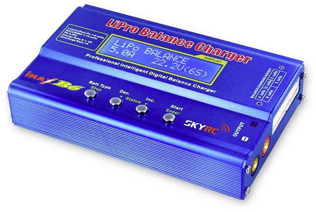 Caricabatterie multifunzione per modellismo 5 A SKYRC B6 LiPo, LiFePO, LiIon, NiMH, NiCd, Piombo